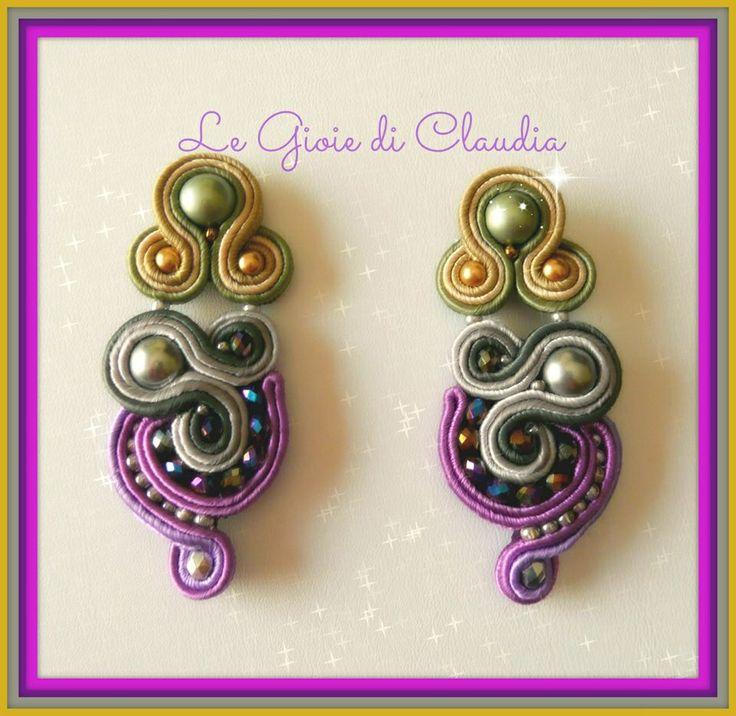 Le gioie di Claudia  Oracchini Soutaches Multicolor