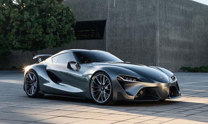 Last week in California Toyota revealed a second FT-1 sports car concept with a graphite exterior.