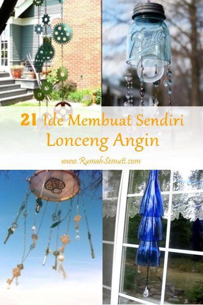 21 Ide Membuat Sendiri Lonceng Angin