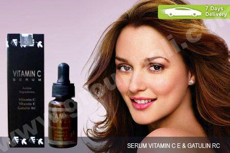 Serum Vit C E  Gatulin RC, serum pencerah dan pengecil pori wajah agar tampil cantik serta awet muda hanya Rp 44.999 http://groupbeli.com/view.php?id=632