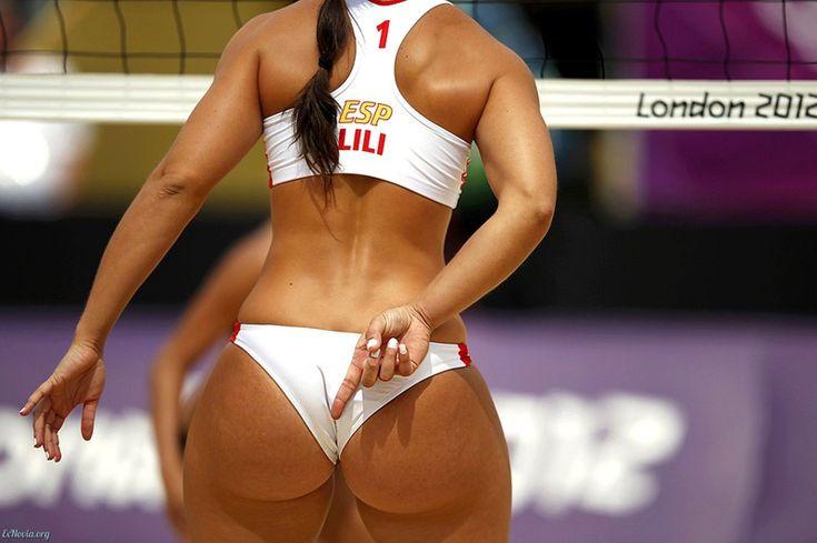 Пляжные волейболистки