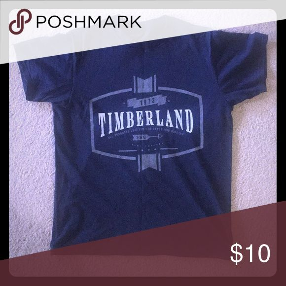 Timberland t-shirt Timberland round neck tshirt size S. Used only twice. Timberland Shirts Tees - Short Sleeve