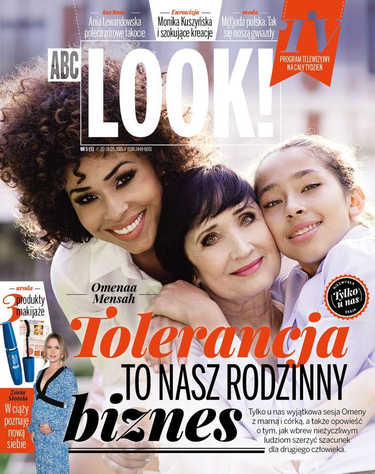 ABC Look 5/5 2015 cover Tolernacja to nasz rodzinny biznes Omena Mensah