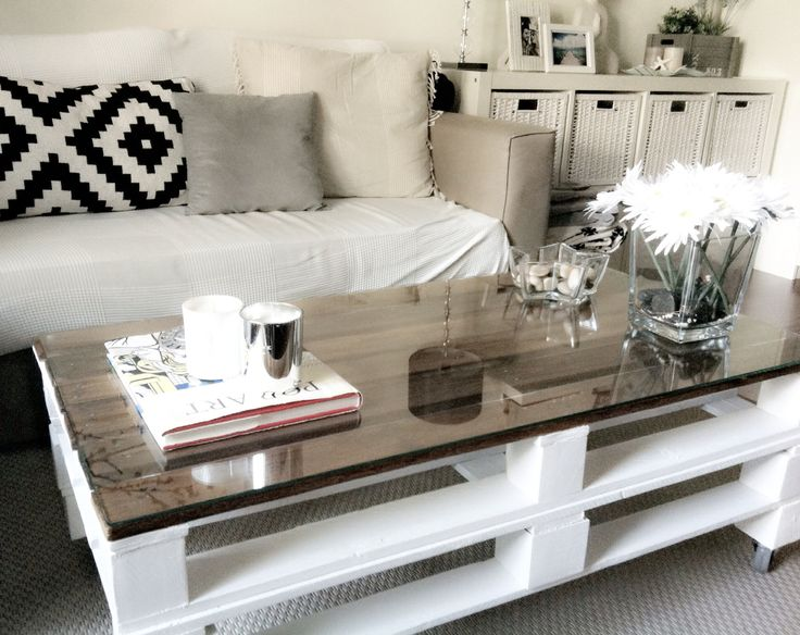 DIY palets table *lalihome