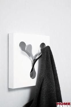 Kare Design :: Wieszak Spoon White Uno (63801) Kare Design oficjalny dystrybutor, nowoczesne i ekskluzywne meble, vintage, glamour design, internetowy sklep meblowy