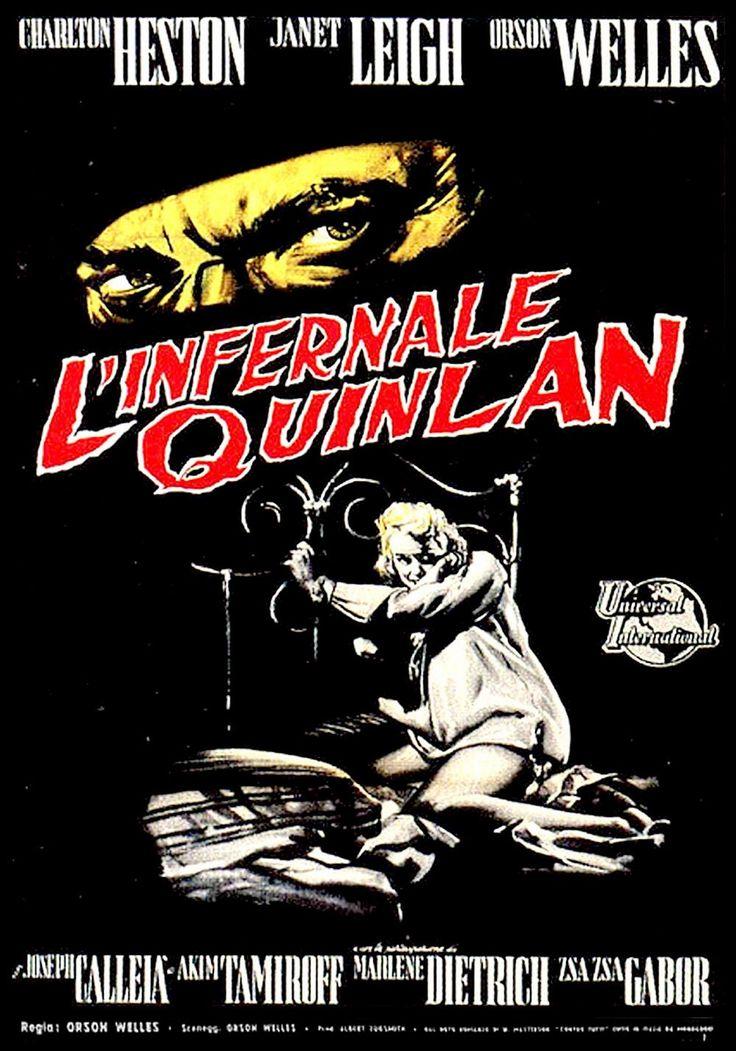 L'infernale Quinlan | Poster Italiano