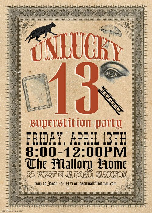 superstitions on friday the 13th