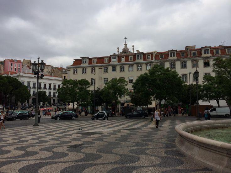 #Lisboa // Площадь Дона Педро IV, Лиссабон, Португалия