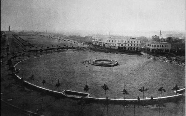 Tahrir Square, Cairo, 1890