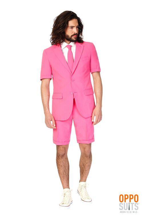 Summer Mr.Pink Suit