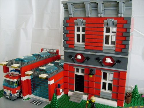 lego duplo fire station instructions