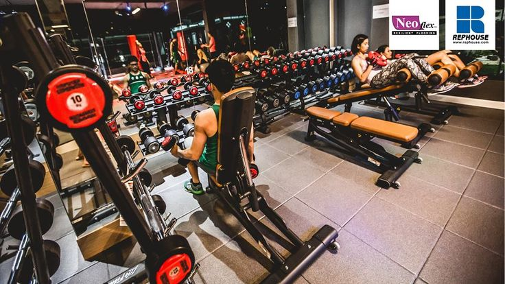 Rephouse Were Asked To Design A Bespoke Fitness Floor For Energy Fitness Surin S New Club In Thailand The O Floor Workouts Energy Fitness Body Weight Training