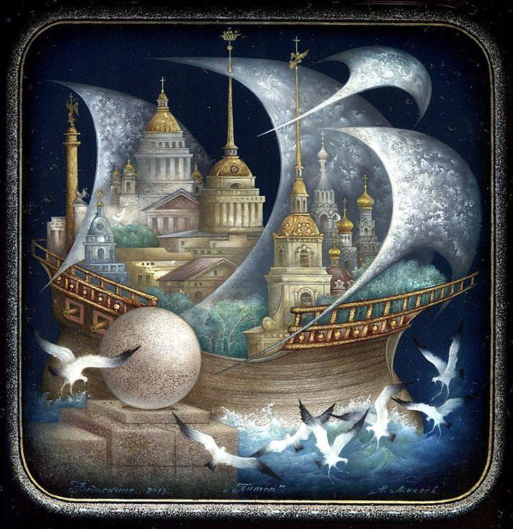 Title: St.Petersburg Artist: Mikheev Alexander