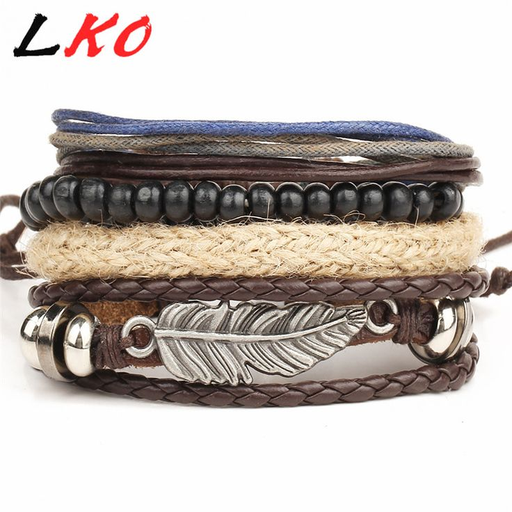 Evil Eye Sailer Leaf Leather Bracelets Men & Women Only at: $5.99 & FREE Shipping Worldwide
