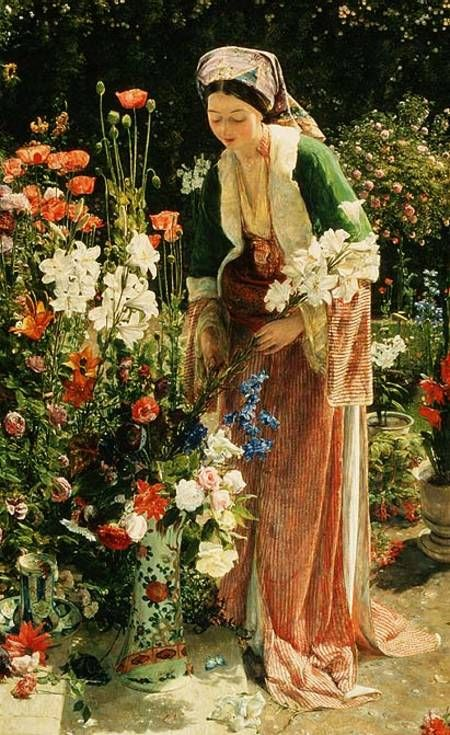 Edward Robert Hughes (English, 1851 – 1914)                                                                                                                                                                                 Plus