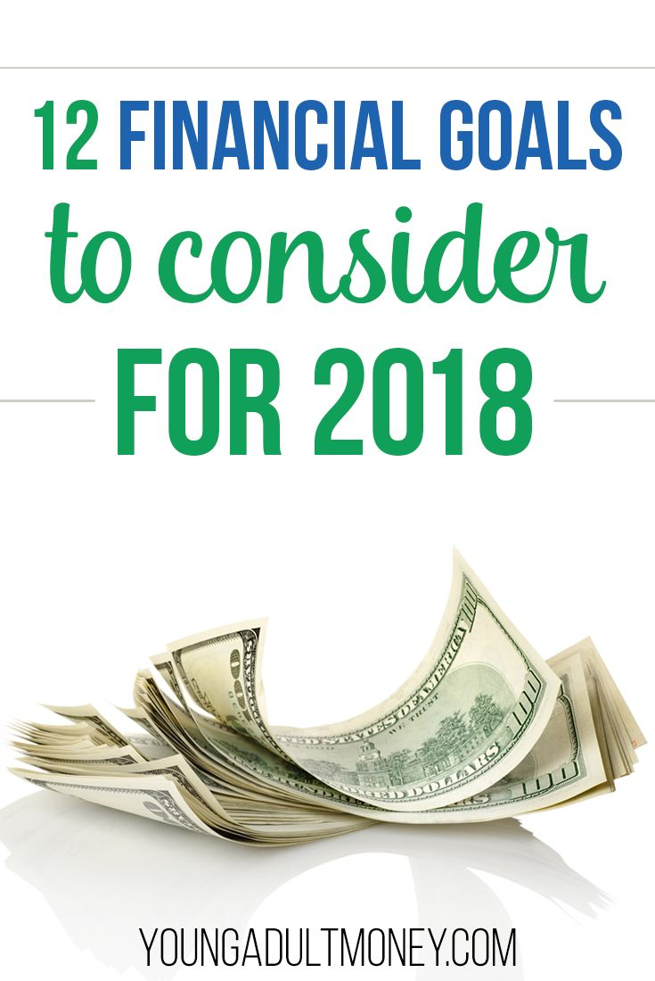 If you're starting to think about your New Years resolution, here are 12 solid financial goals to consider.