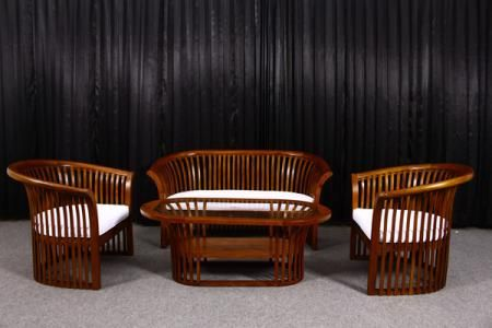 Detail of Tea Sofa Set   Indonesia Contemporary Furniture