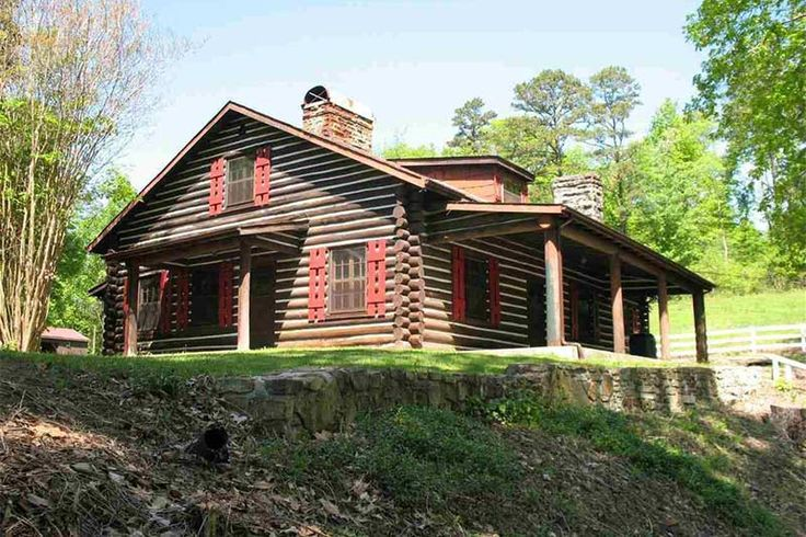 1000 images about historical log homes on pinterest for Log cabin builders in alabama