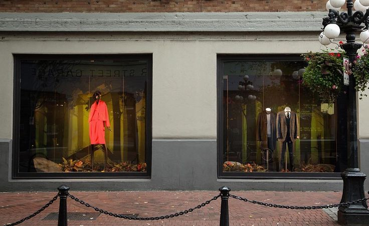 Have you seen our new windows for Fall? Inspired by our latest campaign, come by and take a look! #mySL #Gastown #forest