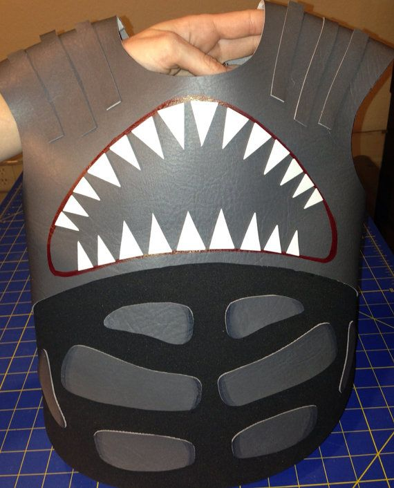 Shark Boy Costume by PaisleyElizabeth on Etsy