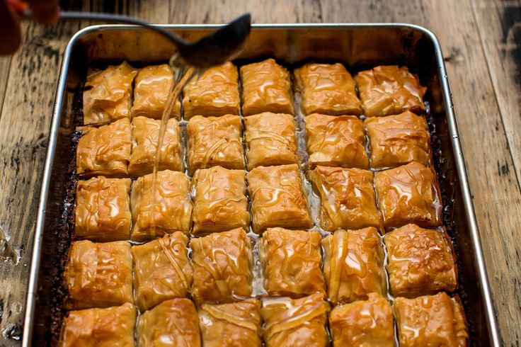 -style baklava tastes deeply and richly of pistachio nuts and butter ...