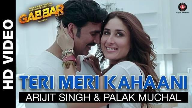Teri Meri Kahani Song Lyrics |Movie Gabbar Is Back| Full HD Video From Movie Gabbar Is Back Starring Akshay Kumar Kareena Kapoor & Shruti..