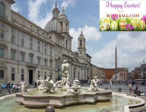 The Rome4all team wishes you a very Happy Easter! Have a great weekend!