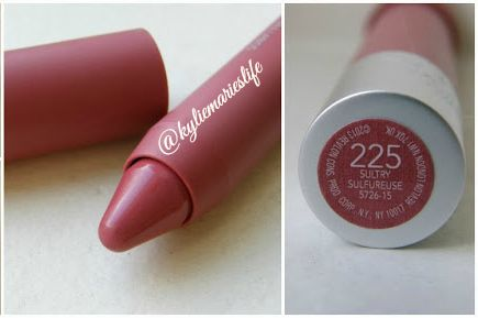 Revlon ColorBurst Matte Balm in Sultry - Your lips but better color.