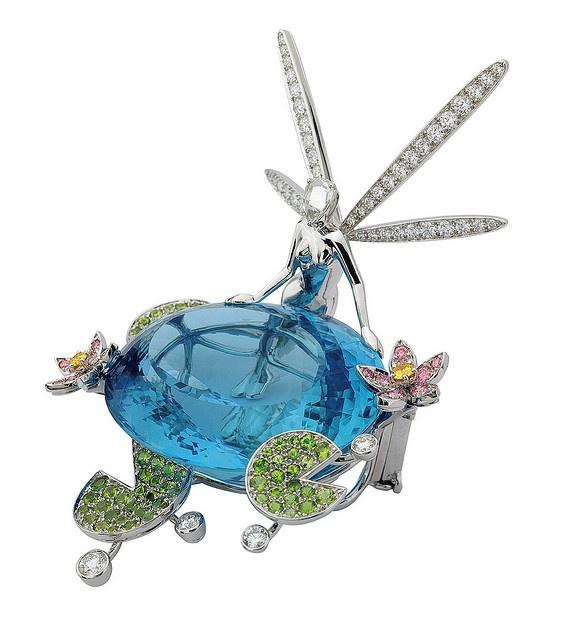 Van Cleef & Arpels - Ondine fairy clip by Van Cleef & Arpels, via Flickr