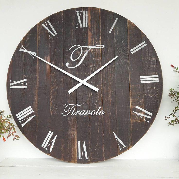 46 отметок «Нравится», 1 комментариев — Rustic Wall Clock to order (@_yuliya_ershova_) в Instagram: «Часы рустик 60см улетают 🛫в Норвегию к замечательному Окбиту (какие у них имена космические🙄).…»