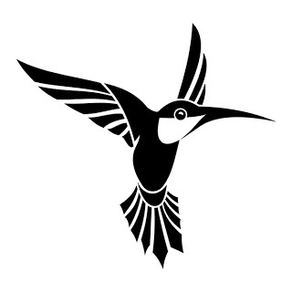 hummingbird, awesome...these two will be on my chest surrounding the lotus