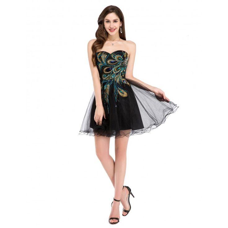Čierne spoločenské šaty CL4975