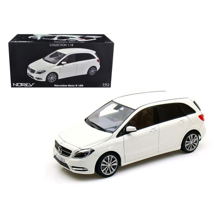 2011 Mercedes B 180 Class White 1-18 Diecast Model Car by Norev