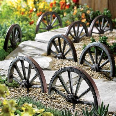 10 Amazing Ideas To Decorate Your Home With Wagon Wheels 4