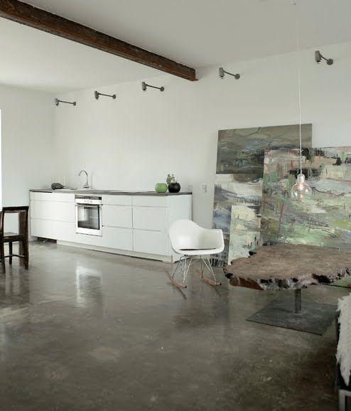 Interior White Floors: Concrete Floor BODIE And FOU★ Le Blog: Inspiring Interior