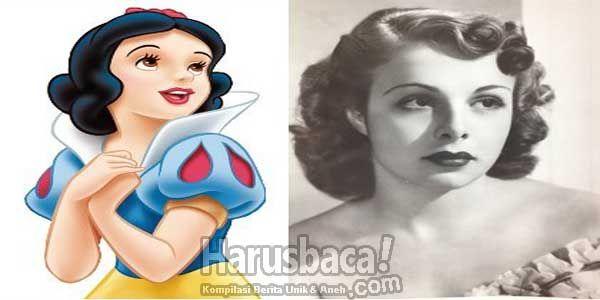 7 Karakter Kartun Disney Yang Terinspirasi Dari Manusia
