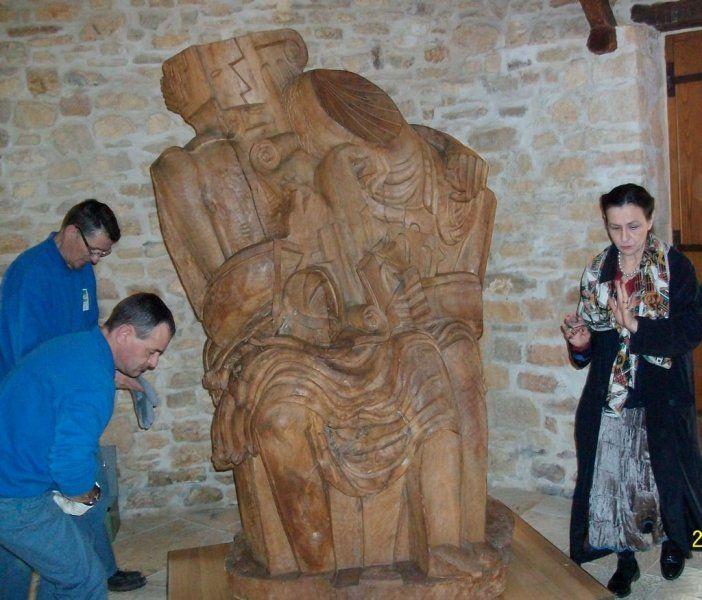 Les arques. Arrivée de deux nouvelles sculptures au musée Zadkine - 26/02/2010 - ladepeche.fr