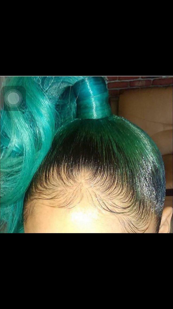 High ponytail goals