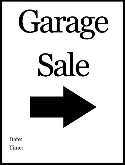 printable pdf wet paint sign garage yard sales pinterest signs