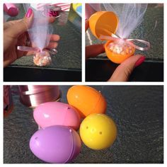 Cool idea for Pink Zebra Easter give aways!