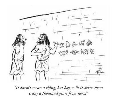 Image result for archaeology writing cartoon