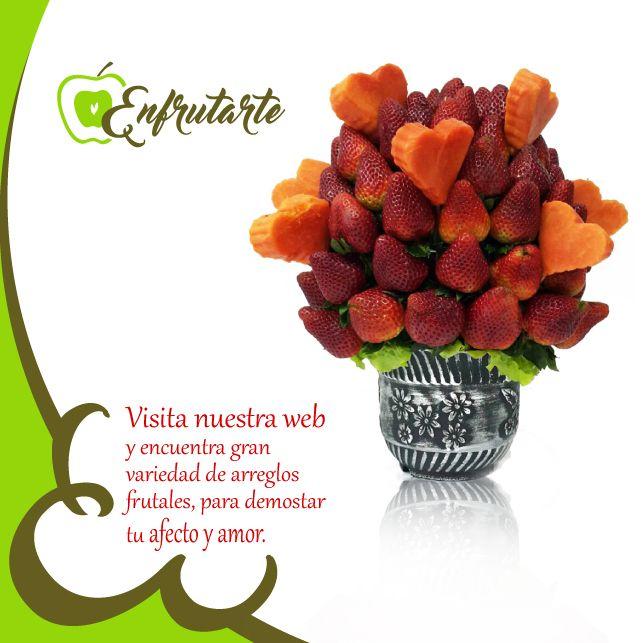 ¡Visita nuestra Web y encuentra el Arreglo ideal!  Servicios a domicilio . #colombia #frutas #ramos #promo