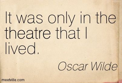 theatre quotes - Google-haku