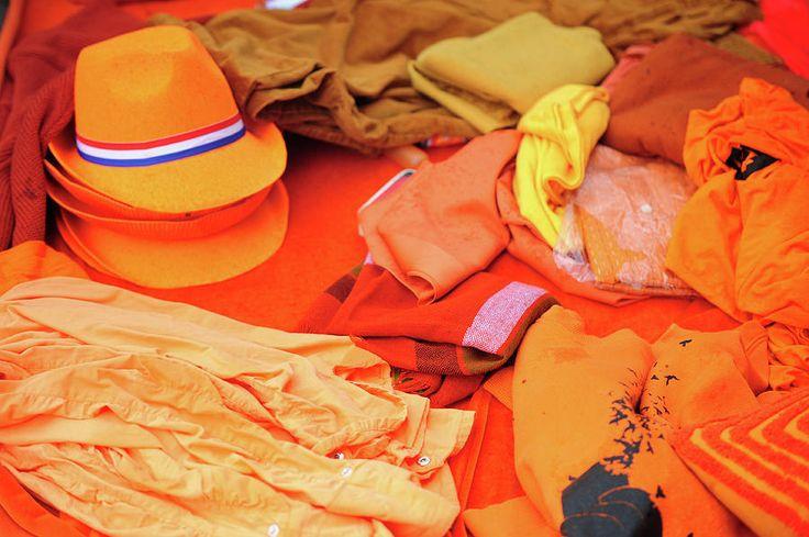 Orange Dutch Clothing by Jenny Rainbow