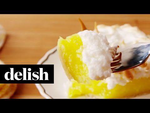 Je parie que vous n'en avez JAMAIS mangé une aussi BONNE! Cette tarte au citron meringuée est DÉCADENTE - Ma Fourchette
