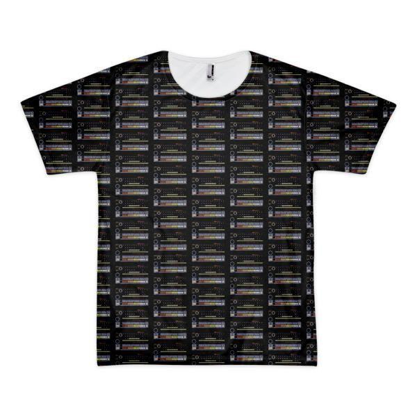 Roland Tr 808 Drum Machine All Over Print Shirt Hip hop Electro Edm
