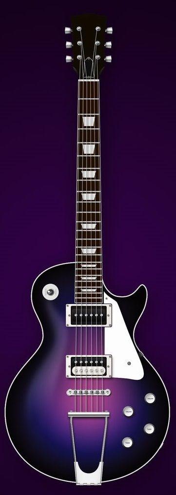 Gibson Les Paul Deep Purple by Ike Ku