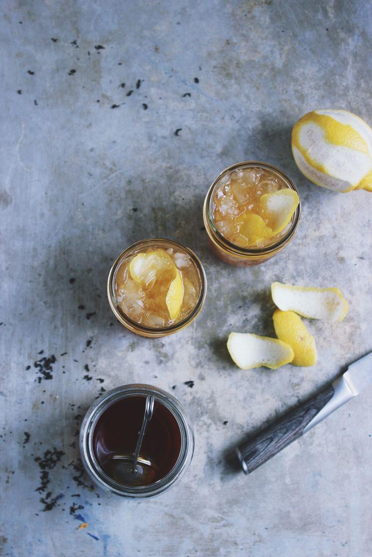 Earl Grey Snap Cider Cocktails