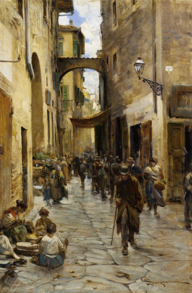 Telemaco Signorini Il Ghetto di Firenze