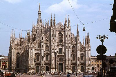 Dom van Milaan, Lombardije, Italië, Milan Cathedral, Lombardy, Italy